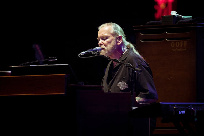 Gregg Allman and the Allman Brothers Band at the Beacon Theater in New York in 2011.